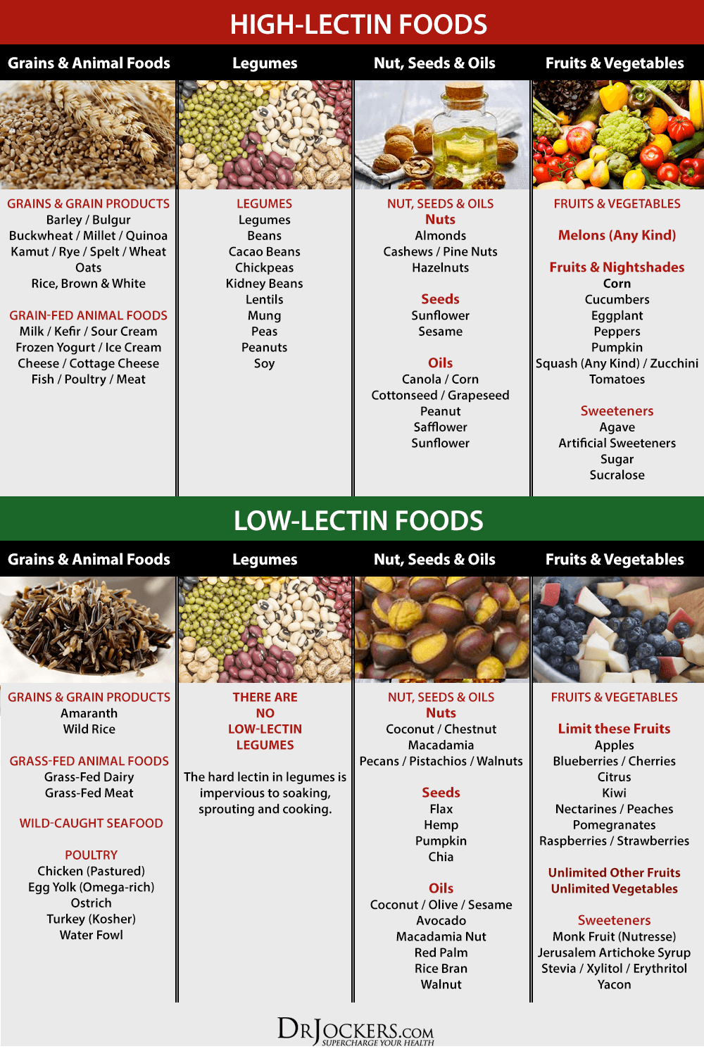 Low Lectin Foods