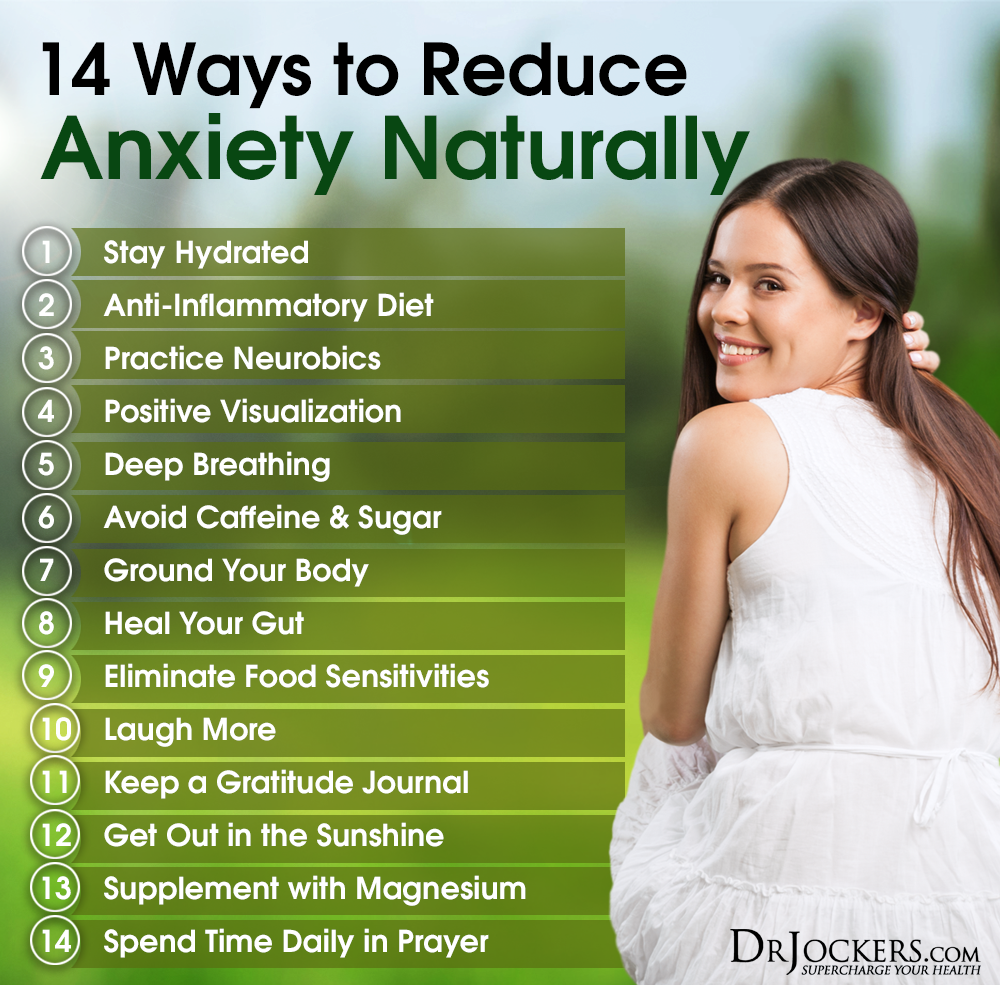 Natural Ways To Relieve Anxiety And Depression